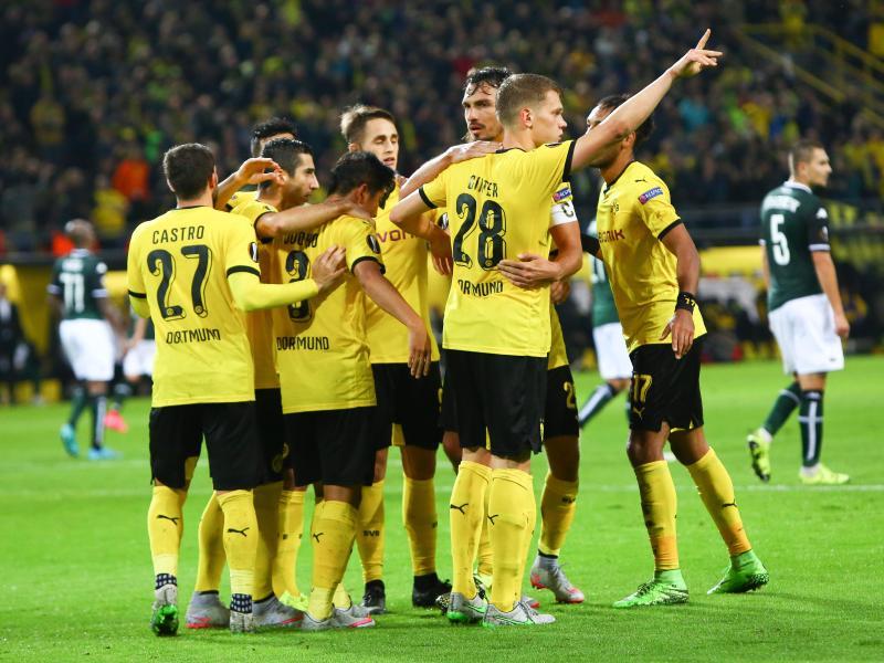 Last-Minute-Sieg für BVB – 2:1 gegen Krasnodar