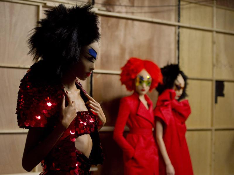 London Fashion Week:Raum für Experimente