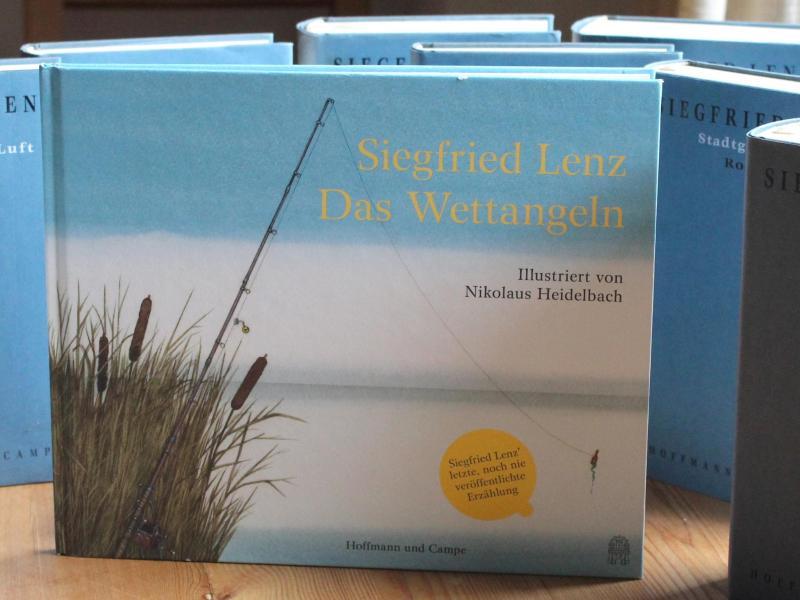 """""""Das Wettangeln"""" – Letzte Erzählung von Siegfried Lenz erschienen"""