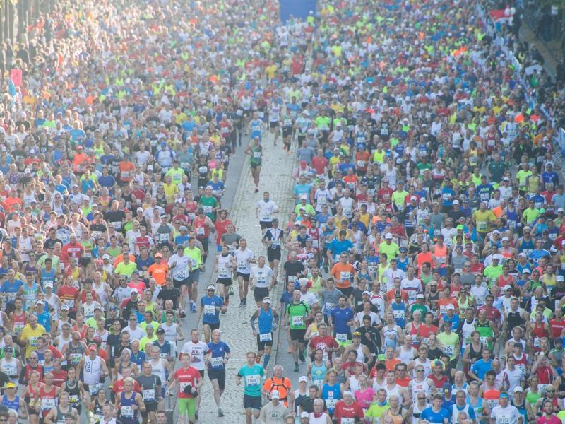 Teilnehmer Berlin Marathon 2021
