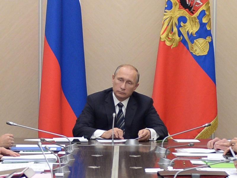 Putin bombardiert Ziele in Syrien