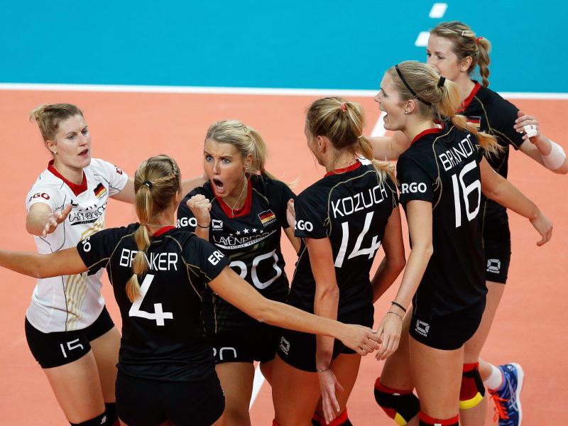 DVV-Frauen im EM-Viertelfinale – Nun gegen die Türkei