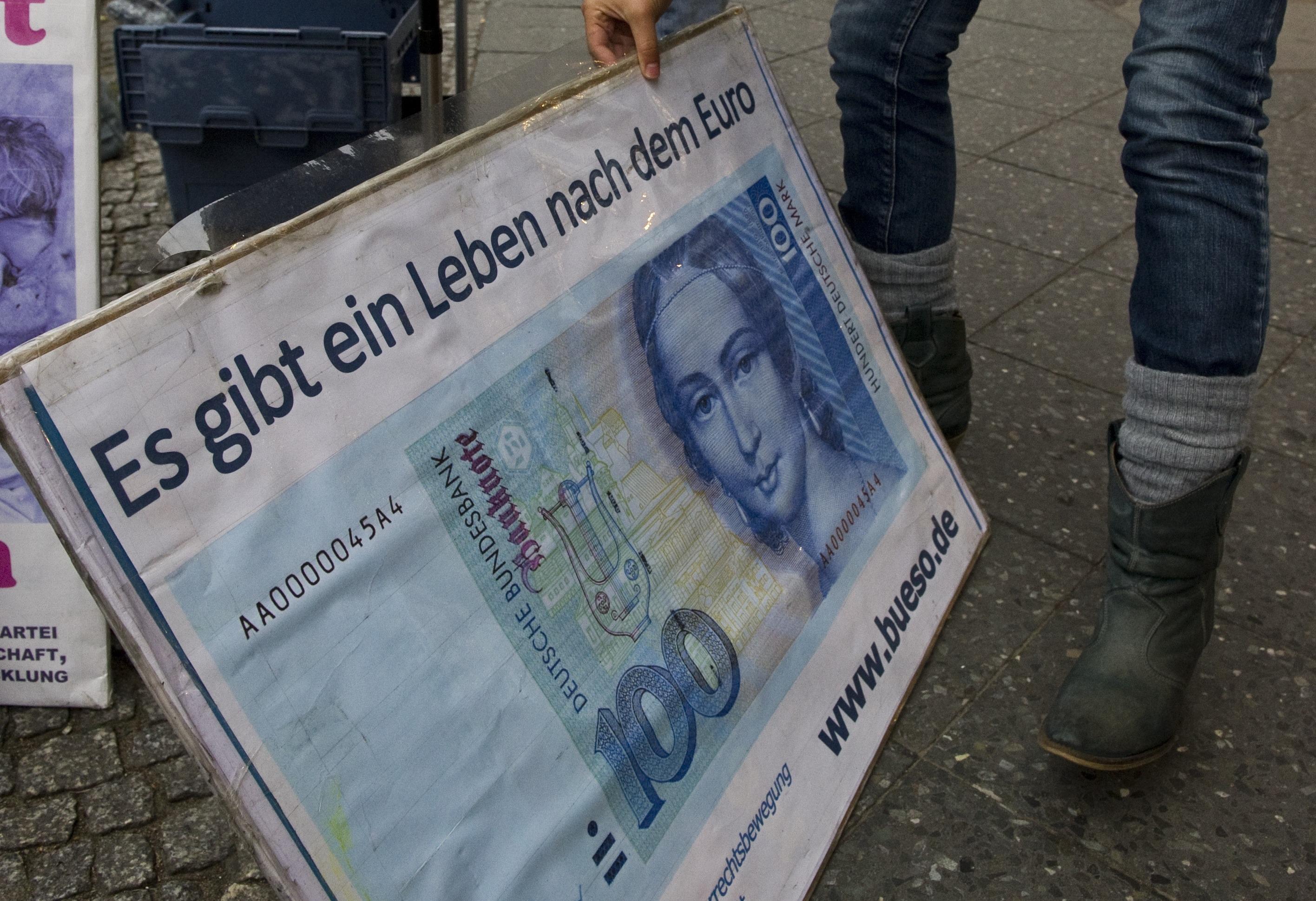 US-Ökonomen fordern Dexit: Deutschlands Austritt aus dem Euro