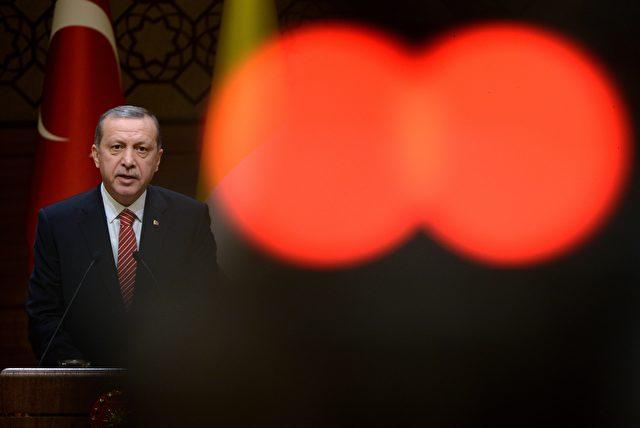 Recep Tayyip Erdoğan Foto: FILIPPO MONTEFORTE/Getty Images