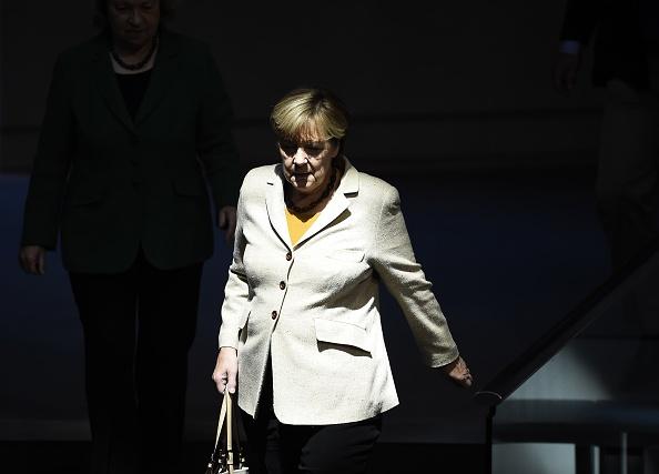 Angela Merkel Foto: TOBIAS SCHWARZ/ Getty Images