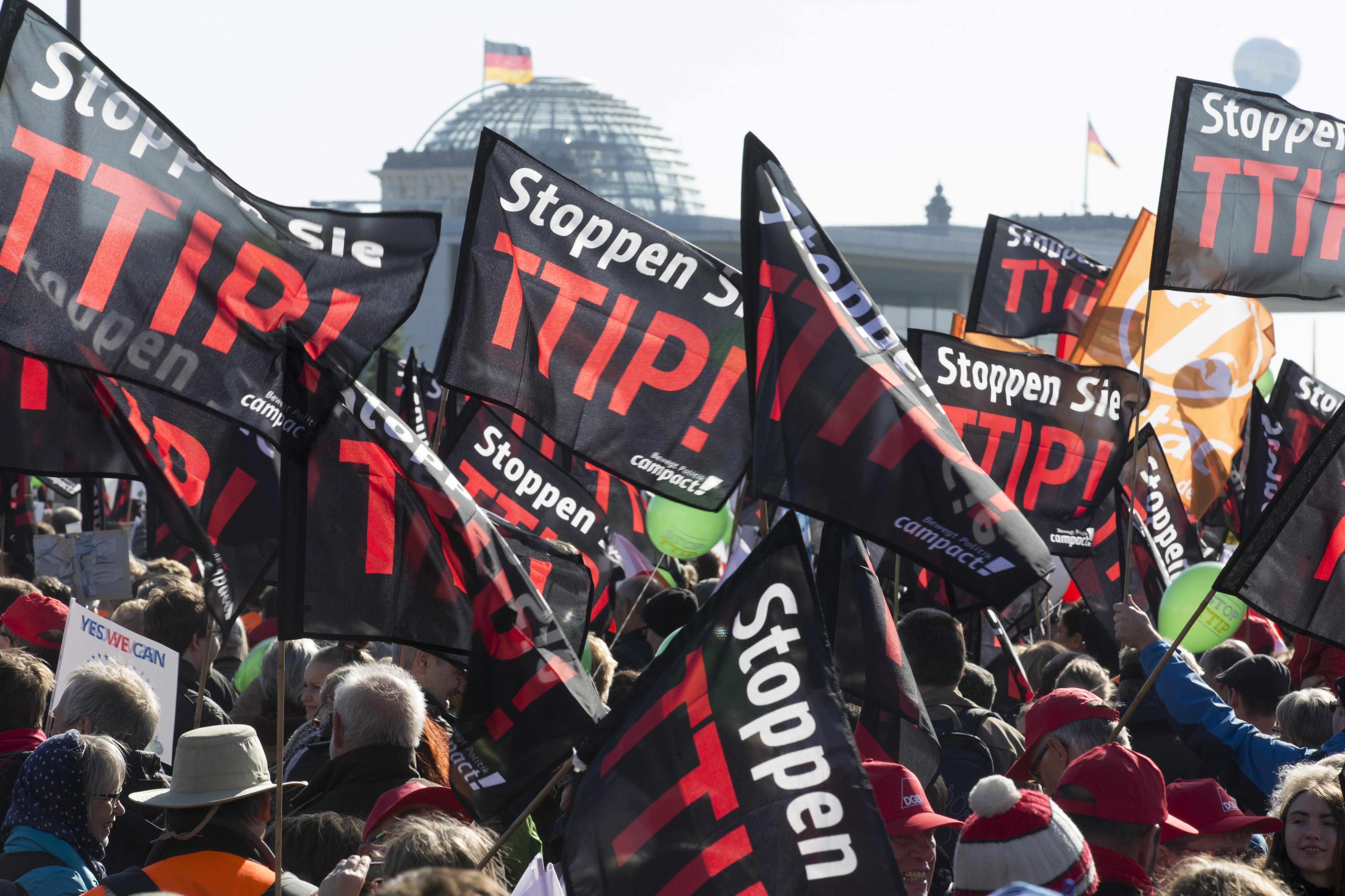 Großdemonstration in Berlin: TTIP und Ceta stoppen! Im Live-Ticker und Live-Stream