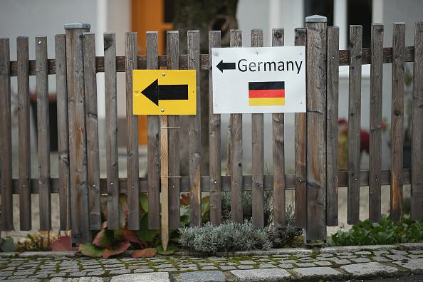 Der Wegweiser nach Deutschland