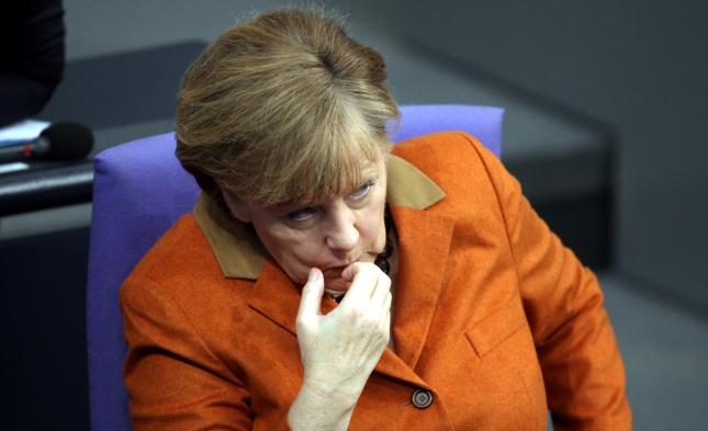 Umfrage: Jeder Dritte will Merkels Rücktritt