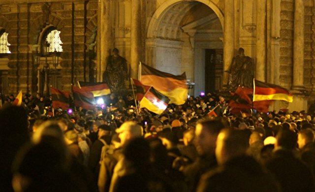 Pegida-Demo am 22.12.2014 Foto: über dts Nachrichtenagentur