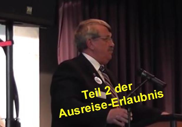 Regierungspräsident Dr. Walter Lübcke beim Neujahrsempfang 2012 in Wolfhagen Foto: Screenshot/Youtube