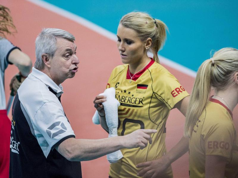 EM-Trauerarbeit bei deutschen Volleyballerinnen