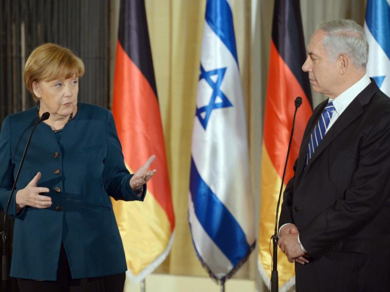 Merkel trifft Netanjahu: Bemühungen um Deeskalation in Israel