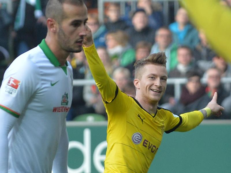 Dortmund rückt nach 3:1 in Bremen näher an Bayern ran