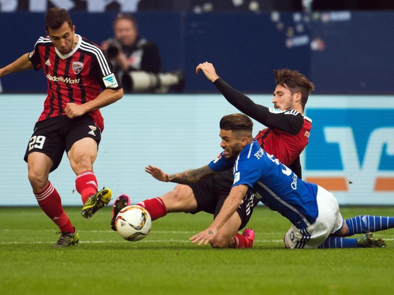 Schalke kommt mit blauem Auge davon: 1:1 gegen Ingolstadt
