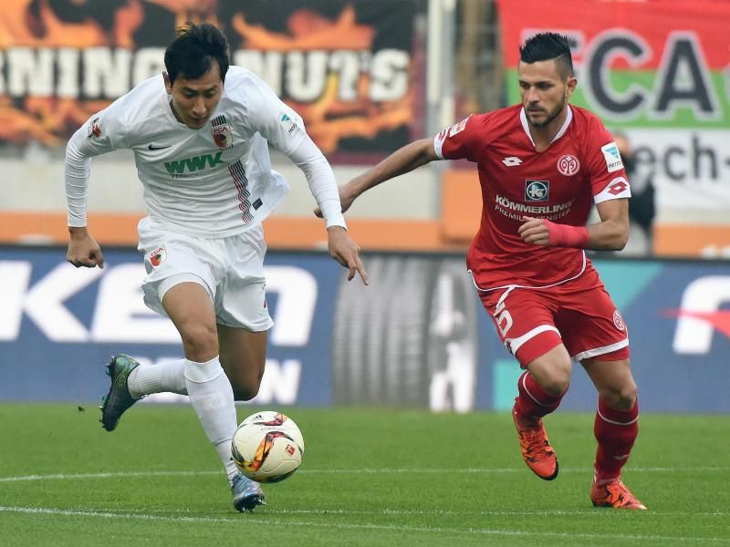 FC Augsburg vergibt Sieg beim 3:3 gegen FSVMainz 05