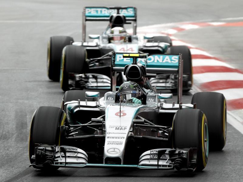 Rosberg auf Pole vor Hamilton – Vettel Dritter
