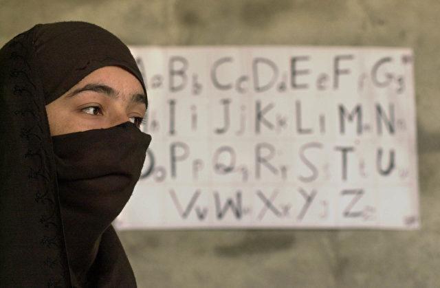 Eine fremde Sprache lernen fängt beim Alphabet an - doch das kann eine Berufsschule in Deutschland nicht auch noch leisten Foto: Chris Hondros/Getty Images