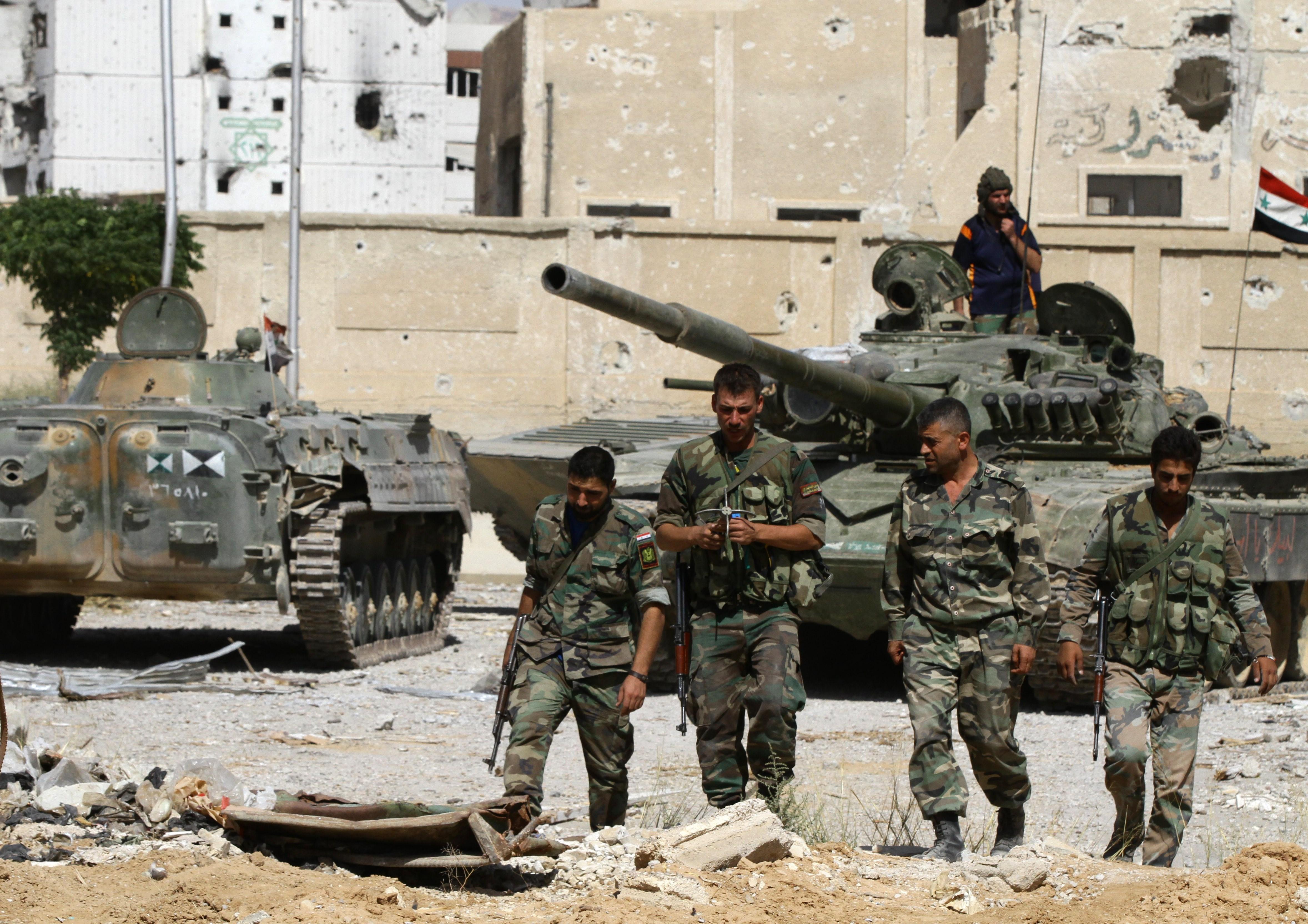 Syrische Armee befreit 8 Dörfer in 2 Tagen