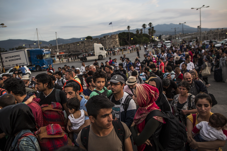 Sicherheitsbehörden: 2 Millionen weitere syrische Migranten erwartet