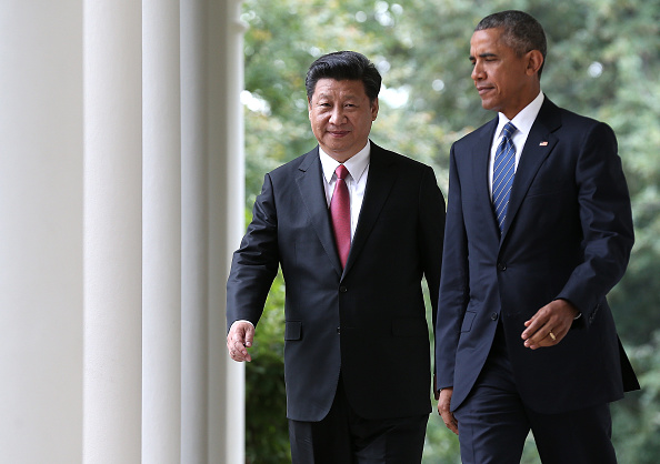 Xi Jinping und Obama. Foto: Win McNamee/Getty Images