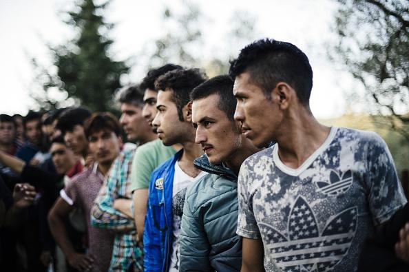 Flüchtlingsströme in Europa. Foto: Getty Images