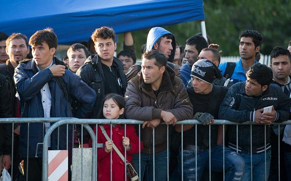 Flüchtlinge und Migranten aus aller Herren Länder in Deutschland. Foto: Matt Cardy/Getty Images