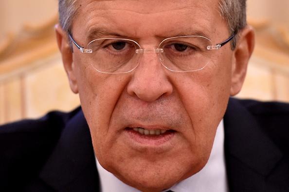 Russlands Außenminister Sergei Lawrow. Foto: KIRILL KUDRYAVTSEV / AFP / Getty Images