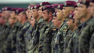 Zahl der traumatisierten Bundeswehrsoldaten steigt stark an