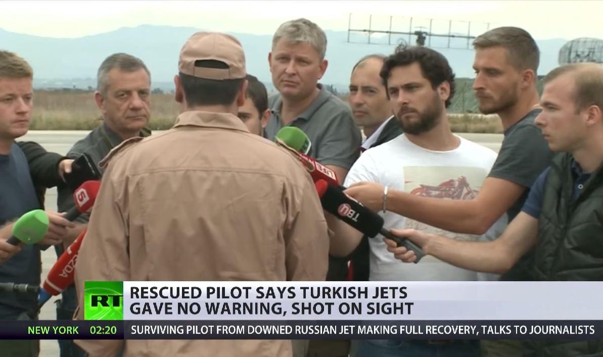 """Russischer Co-Pilot im Interview – Türkischer Politikersohn als """"turkmenischer Rebell"""" beteiligt"""