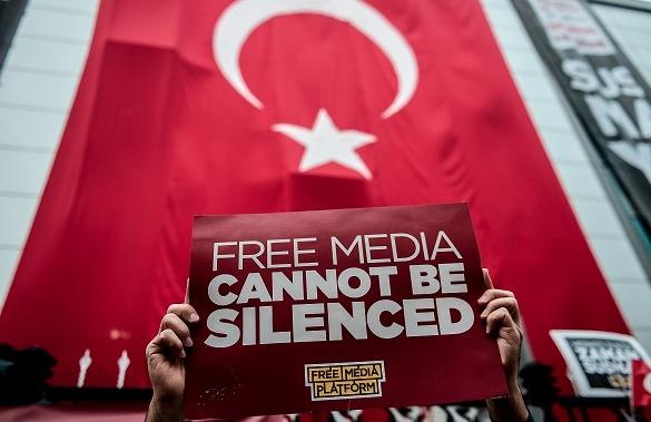 Türkei Proteste für Meinungs- und Versammlungsfreiheit Foto: OZAN KOSE/Getty Images