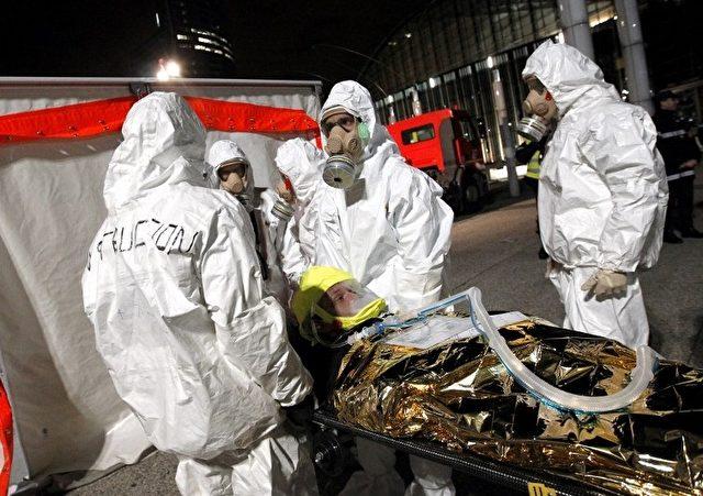 Rettungsmanöver in Frankreich Foto: ALEXANDER KLEIN/Getty Images