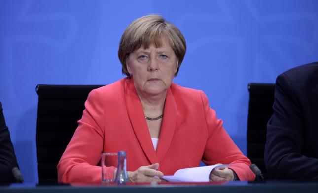 Umfrage: Fast die Hälfte der Deutschen gegen weitere Amtszeit Merkels