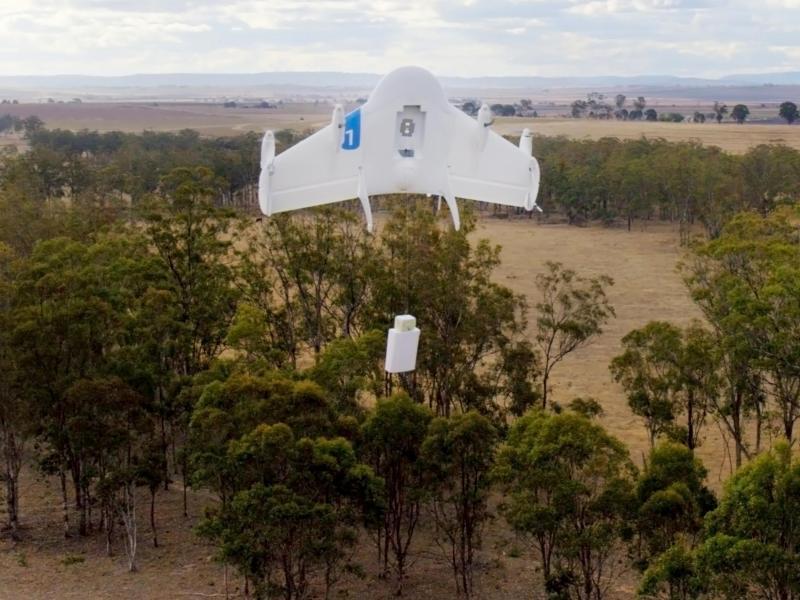 Google hofft auf kommerzielle Drohnen-Flüge 2017