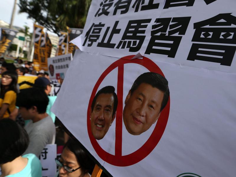 Durchbruch seit 1949: Chinas und Taiwans Präsidenten treffen sich