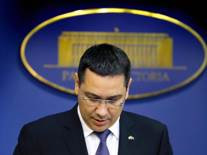 Rumänien: Ministerpräsident Victor Ponta und das Kabinett sind zurückgetreten
