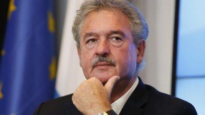 EU-Wirtschaft: Luxemburgs Außenminister will schnelle Öffnung des Schengen-Raums