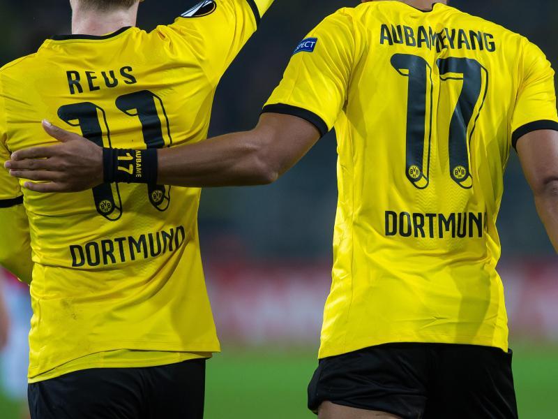 Dortmund ohne Aubameyang, Reus und Kagawa nach Krasnodar