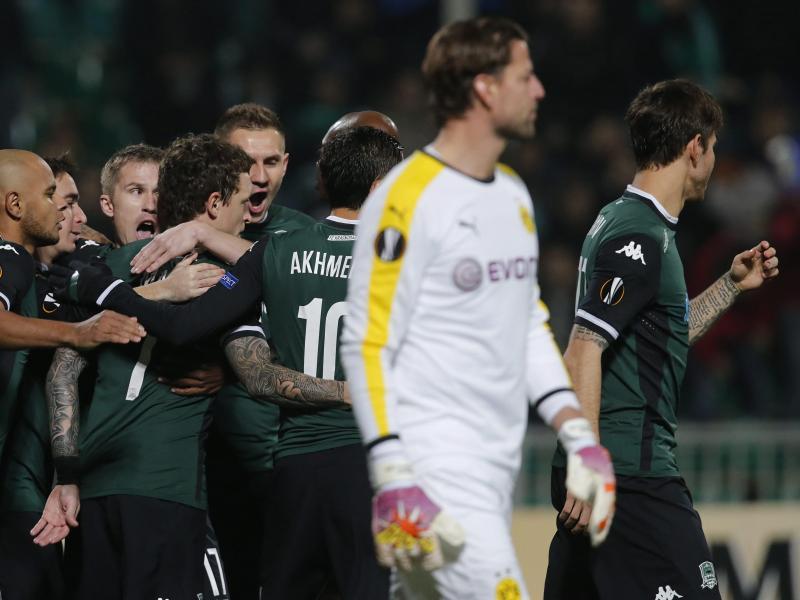0:1-Niederlage in Krasnodar kostet BVB Tabellenführung