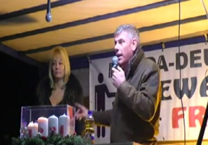 """Pegida-Rede von Filip Dewinter: Widerstand ist """"letzte Hoffnung für ein europäisches Europa"""""""
