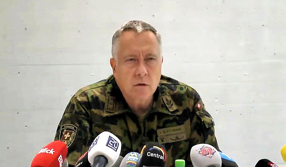 """Schweizer Armee-Chef: """"Terrorbedrohung steigt"""""""