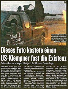 """Ein Artikel im """"Kurier"""" vom 16. Dezember 2015."""