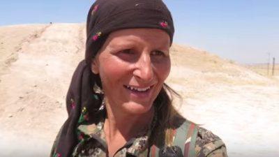 """""""IS-Kämpfer sind feige"""" – Ex-Model kämpft im Irak gegen Terroristen"""