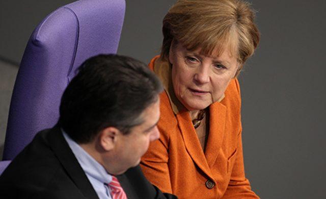 Angela Merkel und Sigmar Gabriel Foto: über dts Nachrichtenagentur