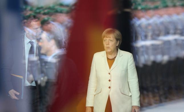 Merkel: Dankeschön an alle, die in der Bundeswehr Dienst tun