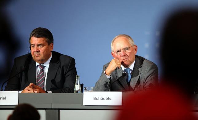 Schäuble: Gabriel verrät die gemeinsame Politik