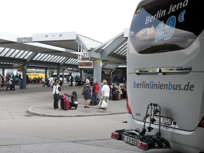 BerlinLinienBus lässt mehr Fernbusse fahren
