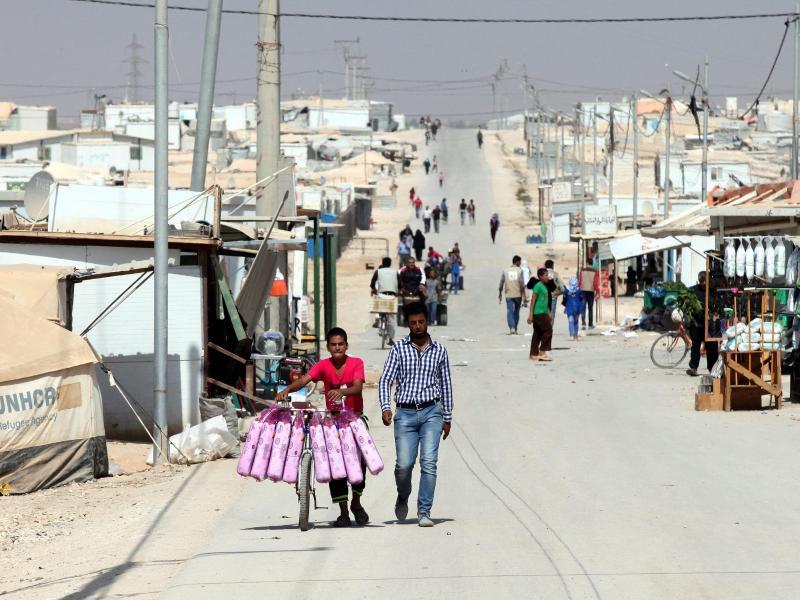 Jordanien öffnet Grenzübergang: Rund 28.000 syrische Flüchtlinge kehren heim
