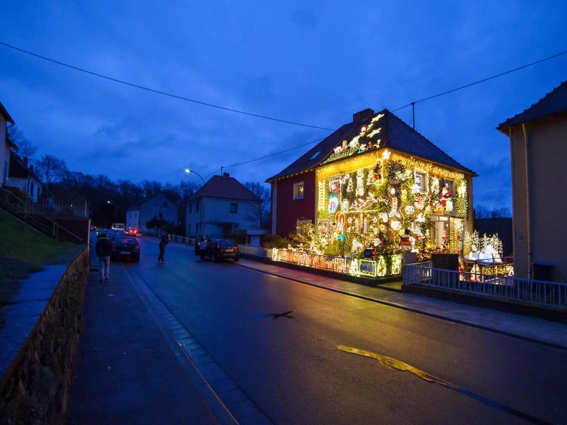 46 000 Lichter zum Advent