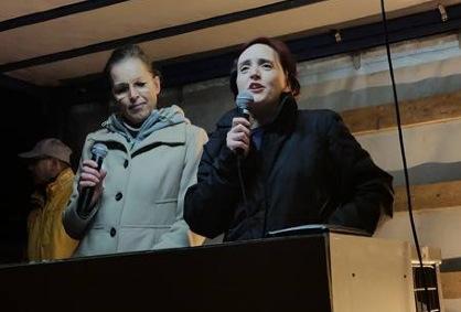 """Briten und Dänen bei Pegida: """"Werden nicht tatenlos zusehen, wie sich unsere Länder in islamische Staaten verwandeln"""""""