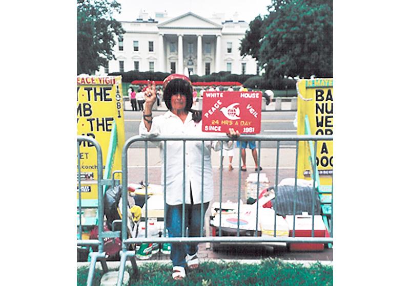 Friedenswache vor dem Weißen Haus – 12.000 Tage und Nächte ohne Unterbrechung